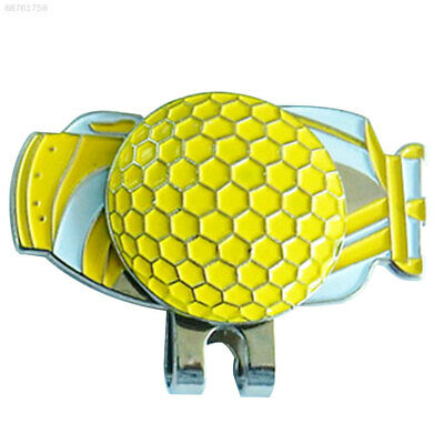 8A2A Golf Ball Marker Magnetic Durable Decoration Sports Gift Sign Shoes Alloy