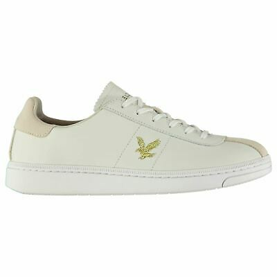 Mens Lyle and Scott Cooper Trainers Low Lace Up New