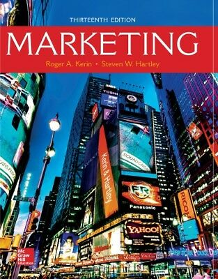 [PDF] Marketing 13th Edition by Roger A. Kerin - Instant Email Delivery