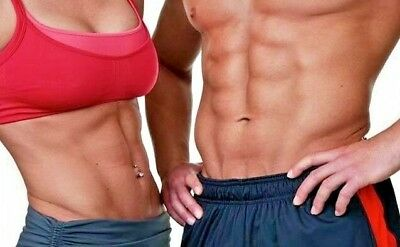 FLAT ABS FITNESS WORKOUT DVD TONE YOUR  STOMACH fat burner  belly cardio fit