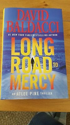 Long Road to Mercy (Atlee Pine) (Hardcover) by David Baldacci Brand new 1st edit