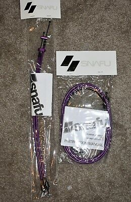Snafu Astroglide Dual Lower Detangler Gyro Cable for BMX Freestyle Bikes