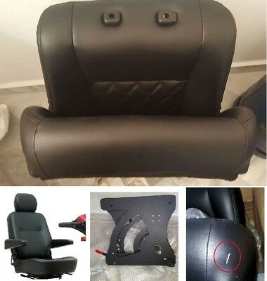 Mobility Swivel Car Seat w Manual Base Mount Driving Disabled Aid NEW Universal