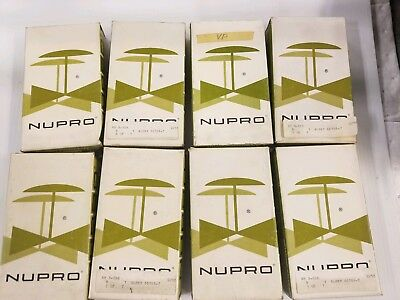 8 NOS Nupro B-6BK Valves Helium Leak Tested In original box and sealed packaging