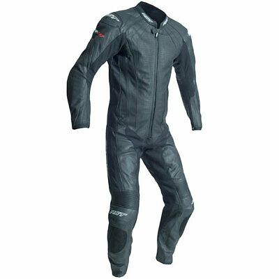 RST 2068 R-18 CE One Piece Leather Motorcycle Motorbike Race Track Suit - Black