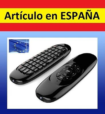 FLYMOUSE mini TECLADO RATON inalambrico wireless Rikomagic Android PC TV