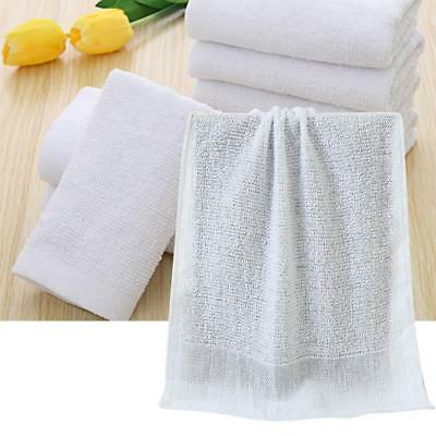 Reusable Bath Solid White Towel Cotton Hotel Collections Disposable Towel