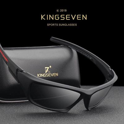 Polarized Tactical Classic Vintage Sunglasses for Sport and Driving Kingseven