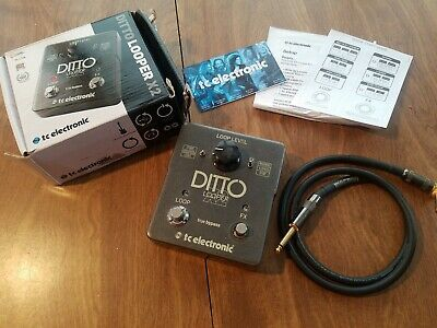 TC Electronic Ditto X2 Looper Guitar Effect Pedal