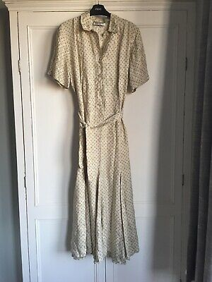 Robert Sandel Vintage Silk Dress Size 8