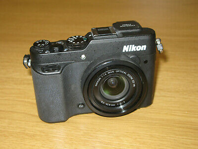 Nikon COOLPIX P7800 12.2MP Digital Camera - Black  WORKS WITH FAULTS SPARES (30)