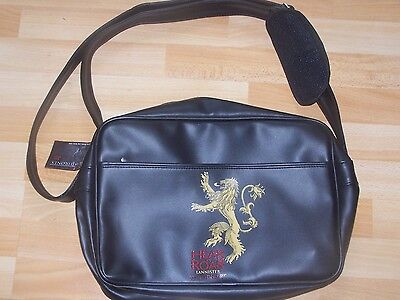 Game Of Thrones Lannister Sac Sacoche Cartable Bag Neuf Officiel
