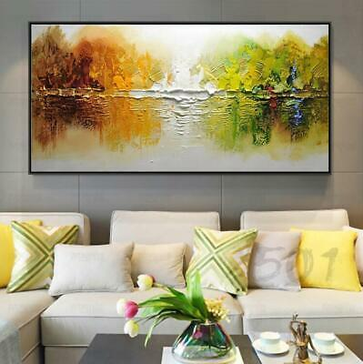 HH009 Modern Home decor 100% Hand-painted Abstract art oil painting Scenery