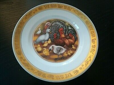 Royal Copenaghen The Hans Christian Andersen Plate 1975 The Ugly Duckling