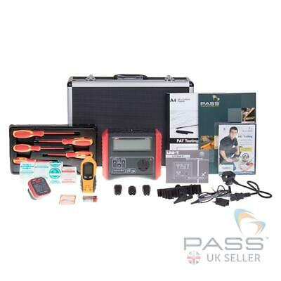UNI-T UT527 Manual PAT Tester - Essentials Kit with DVD, Labels and More!
