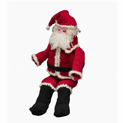 Santa Claus Swatch Critter Kit For Schacht Zoom Loom, Holiday Series