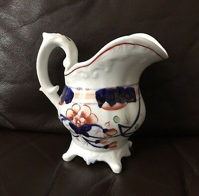 Antique Early Victorian 19th Century Gaudy Welsh Milk Jug