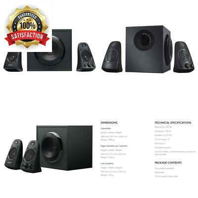 6f8c804ca1b Logitech Z5500 5.1 THX 505 WATTS RMS Speaker System Subwoofer Remote  Complete.