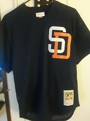 finest selection d5a14 cf37c MITCHELL & NESS Tony Gwynn San Diego Padres Baseball Jersey (Size Medium)