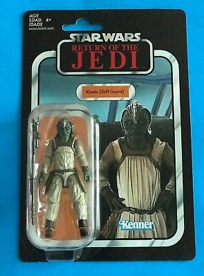Star Wars The Vintage Collection Klaatu Skiff Guard Vc135