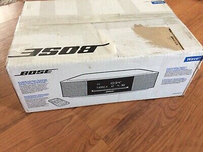 New In Open BoxBose 737251-1710 Wave Music System IV Audio System Espresso Black