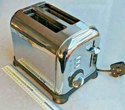 Morphy Richards Accents 2 thick Slice Toaster Stainless Steel Model 44068