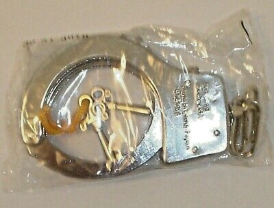 "Oker No.368 Handcuffs Factory w/ 2 Keys -  ""New Factory Sealed In Plastic"""