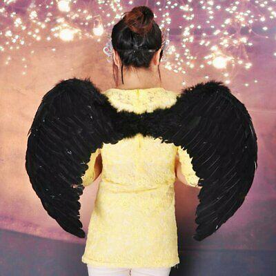 Feather Wings For Kids Cosplay Party Halloween Perform Costume Decoration FR