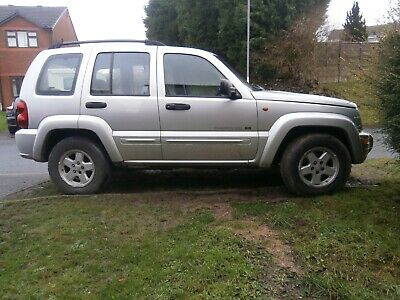 Jeep cherokee 2.5 CRD (141bhp)4x4 limited year 2003