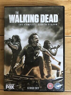 The Walking Dead Season 8 DVD Watched once