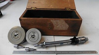 MATRIX 3 POINT INTERNAL MICROMETER BORE GAUGE SET - Range 2-3""
