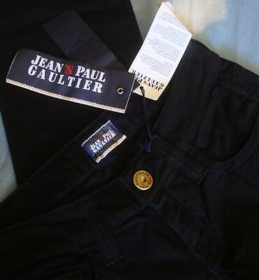 TROUSERS woman vintage JEAN PAUL GAULTIER  jeans mod.CHANTAL  TG.28- S NEW