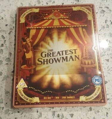 The Greatest Showman - Limited Edition Steelbook (Blu-ray/DVD) w/ Lyric Booklet