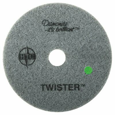 "Twister™ Diamond Cleaning System 11"" Green Floor Pad - 3000 Grit - 2 per case"