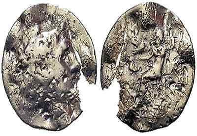 Alexander the Great Tetradrachm - Punched, Gouged, Bent and Broken