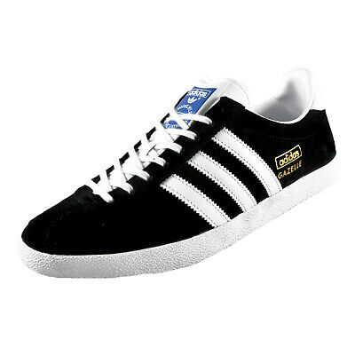 brand new 648e7 b4f68 Adidas Originals Gazelle OG Mens Trainers Black