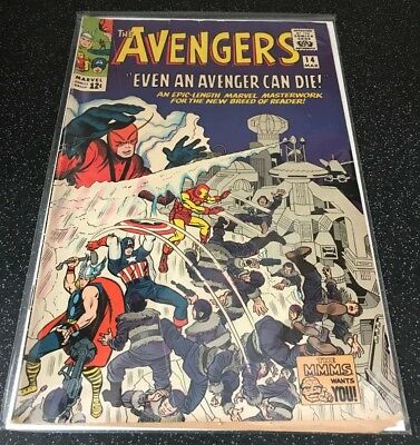 Avengers #14 G/VG condition