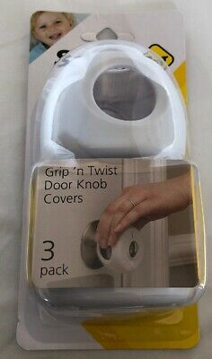 Safety 1st Grip 'n Twist Door Knob Cover  3 Pack