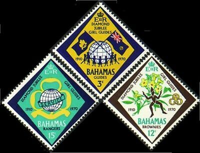 Bahamas Guides Scouts MNH ** (70)