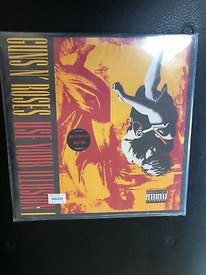 Guns N' Roses ‎– Use Your Illusion I 1991 US Pressing 2lp STILL SEALED
