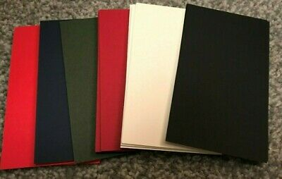 """15 PIECES 5 X 4 INCH 5x4""""  MOUNT BOARD CARD OFF CUTS ASSORTED COLOURS CRAFT"""