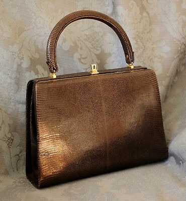 Borsa donna in pelle anni '60 vintage leather bag from the 60s