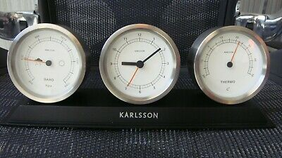 Karlsson Clock, Thermometer, Barometer Buy now, Free post