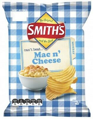 Limited Edition Mac n Cheeze Potato Chips 150g