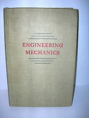 Vintage Engineering Mechanics Book 1943 Ferdinand L. Singer