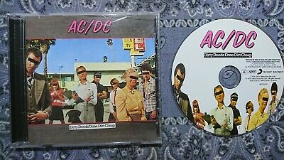 AC/DC Dirty Deeds Done Dirt Cheap, CD /1976/2003/9 Songs/Remaster