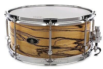 RBH Monarch Snare Drum 14x6.5 Spalted Beech + FREE Case