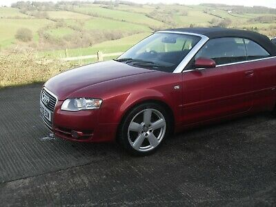 Audi A4 S Line Convertible 2006 Spares Or Repairs