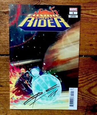 Cosmic Ghost Rider #1 Signed Donny Cates 1:25 Hans Variant Nm 1St Print Unread