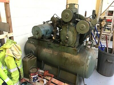 Ingersoll Rand 200 PSI Air Compressor 15HP Motor 325 Litre Receiver Tank 3 Phase